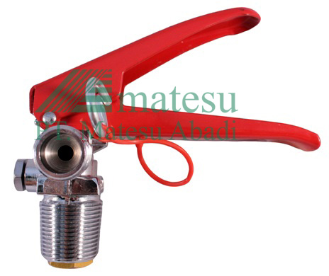 Valve for CO2 Extinguisher Cylinder